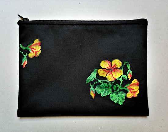 Poza cu Plic Motive Florale