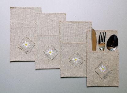 Poza cu Set Tacamuri Floare de Colt