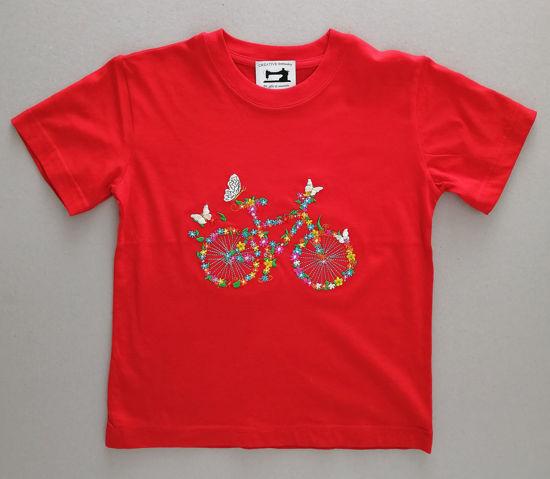 Poza cu Tricou copii Bicicleta