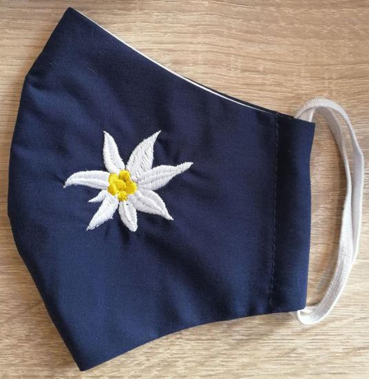 Poza cu Masca Floare de Colt