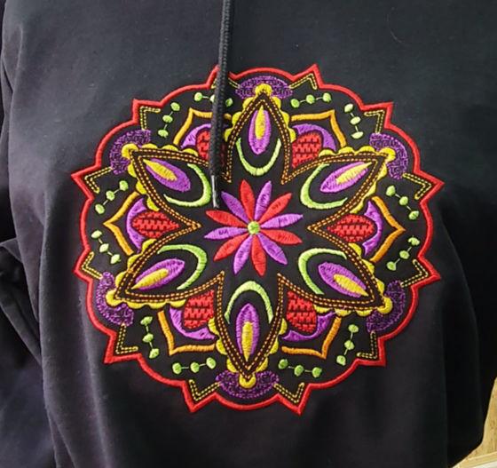 Poza cu Hanorac Mandala