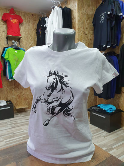 Poza cu Tricou Horse Silhouette
