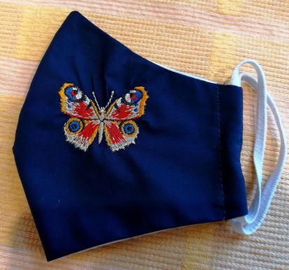 Poza cu Masca Fluture Colorat