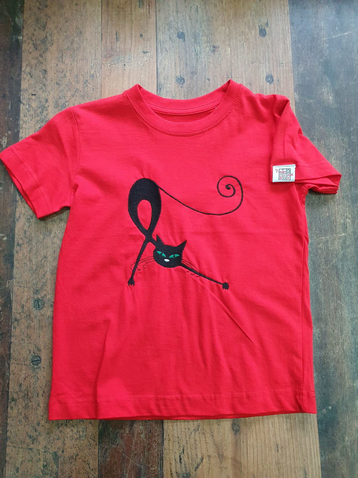 Poza cu Tricou Copii Pisica