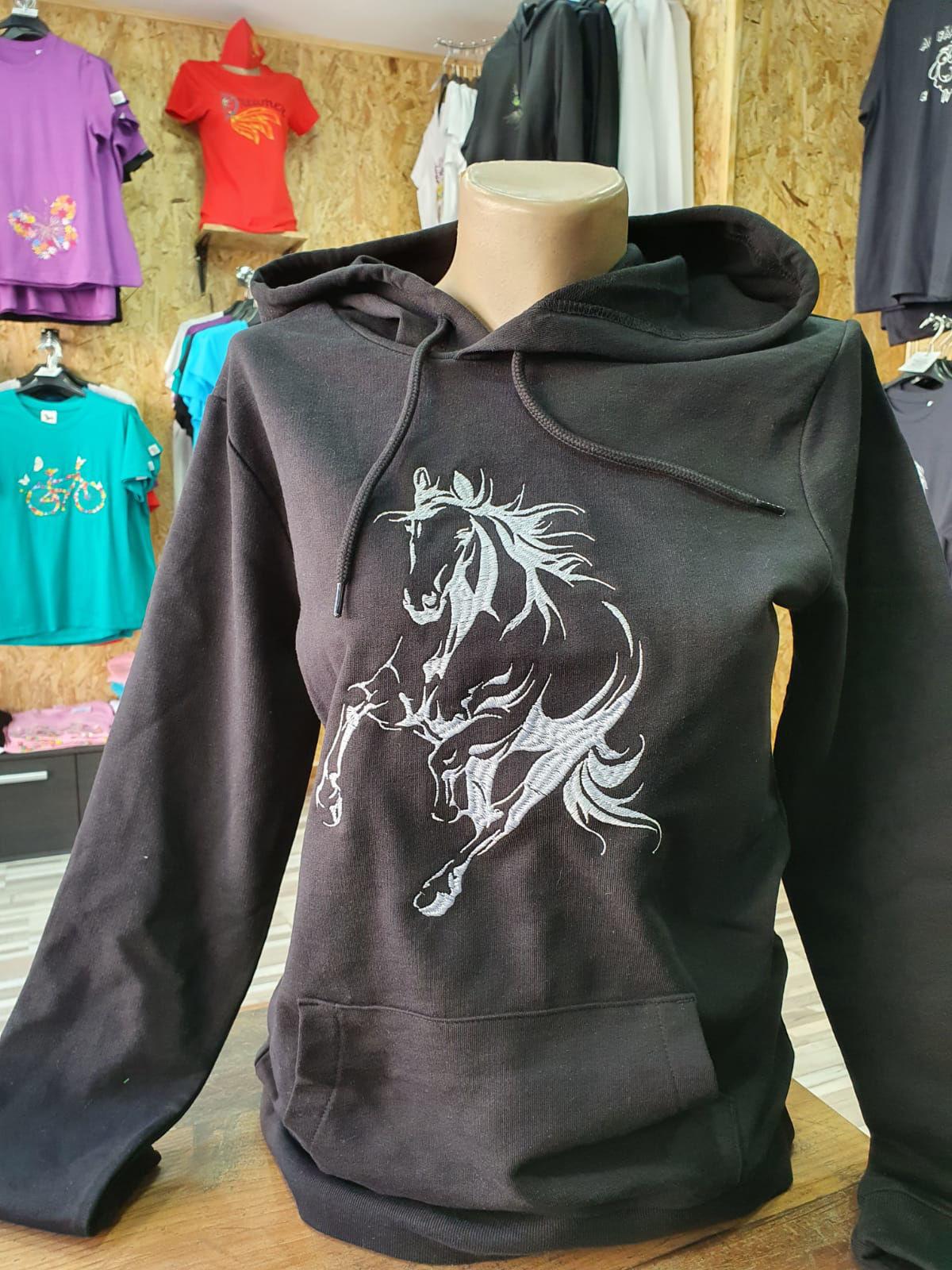 Poza cu Hanorac Horse Silhouette