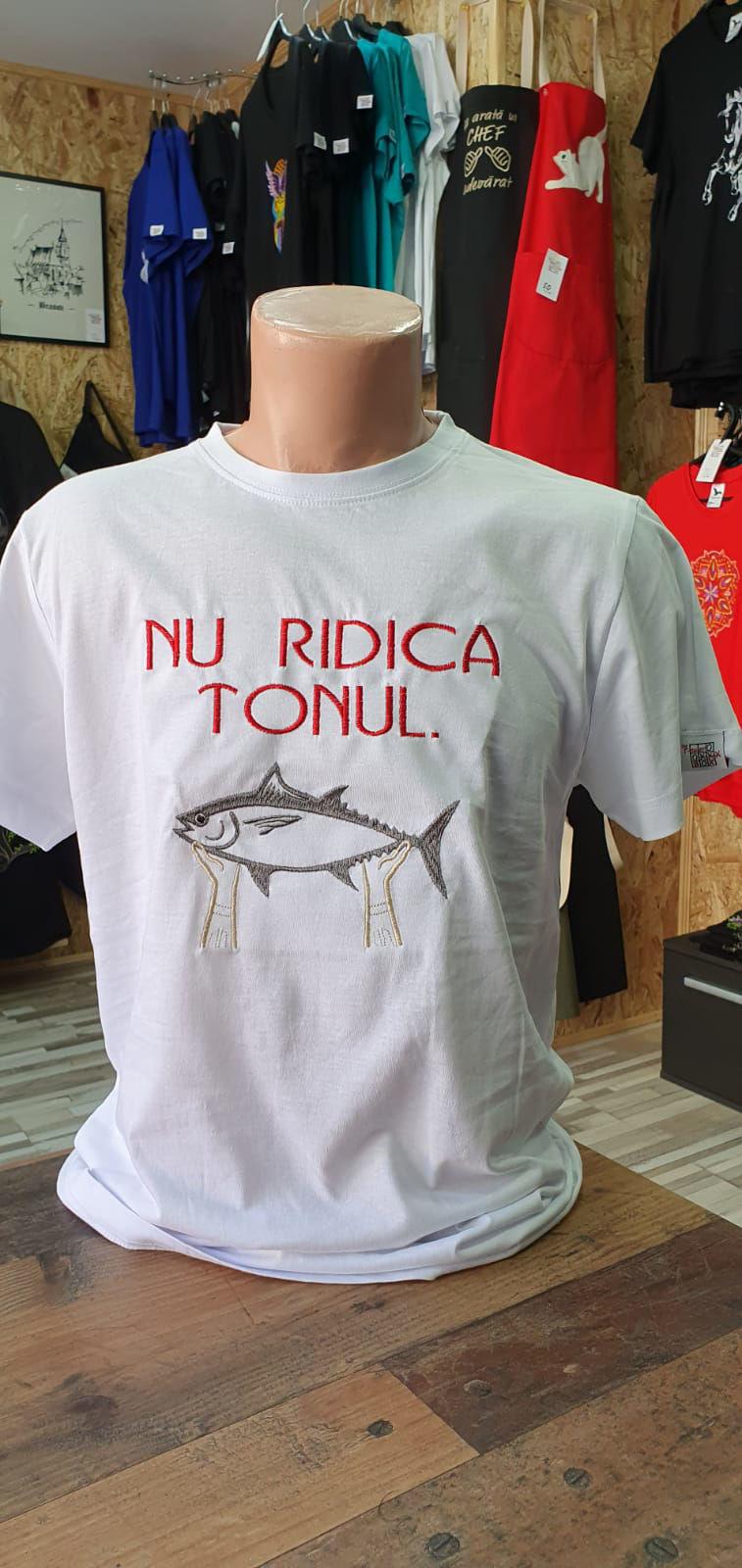 Poza cu Tricou ''Nu Ridica Tonul''