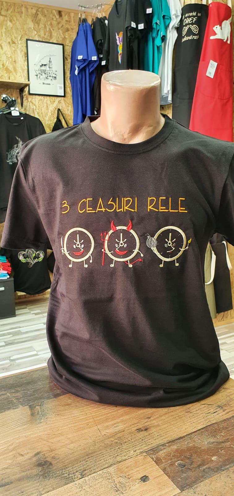 Poza cu Tricou 3 Ceasuri Rele